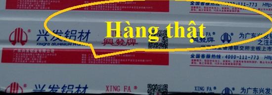 Kết quả hình ảnh cho Xingfa tem đỏ